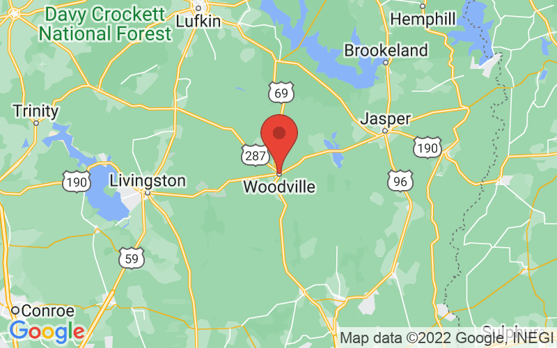 Map of Woodville, ON US