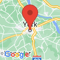 Map of York, PA