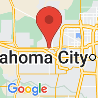 Map of Yukon, OK US