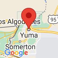 Map of Yuma AZ US