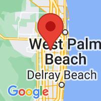 Map of greenacres fl US