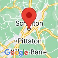 Map of scranton pa US