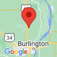 Map of sperry iowa US